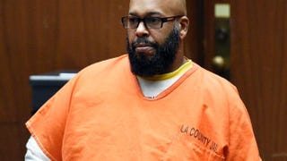 "Marion ""Suge"" Knight at a court hearing in Los Angeles March 9, 2015Kevork Djansezian/Getty Images"