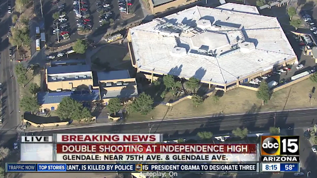 Two Teenagers Involved In Double Shooting At Arizona High School