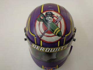 Illustration for article titled Technicolor Dreaming: What it Takes to Wrap a Racing Helmet
