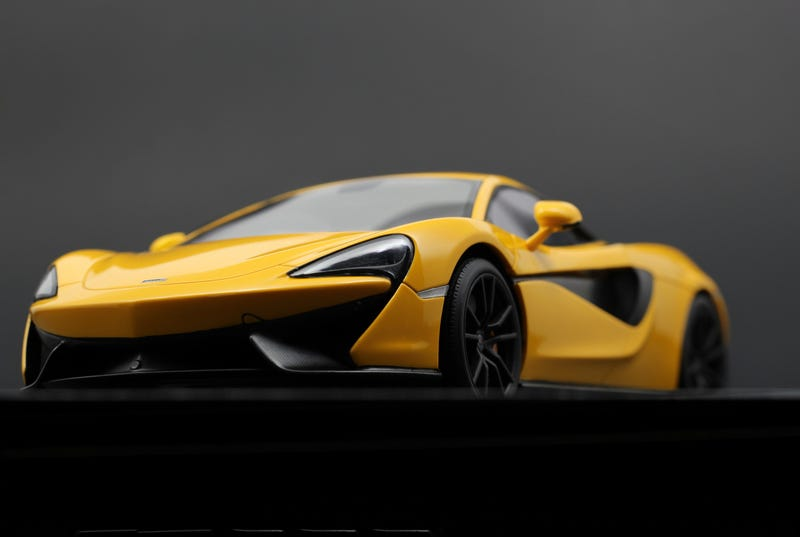 Illustration for article titled TopSpeed's Volcano Yellow McLaren 570s