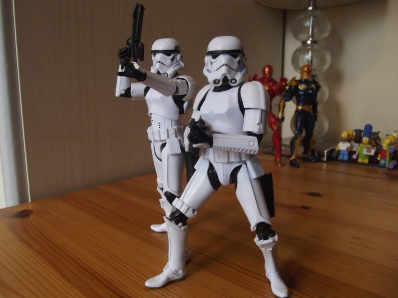 Illustration for article titled The constant beauty of a Stormtrooper Action Figure