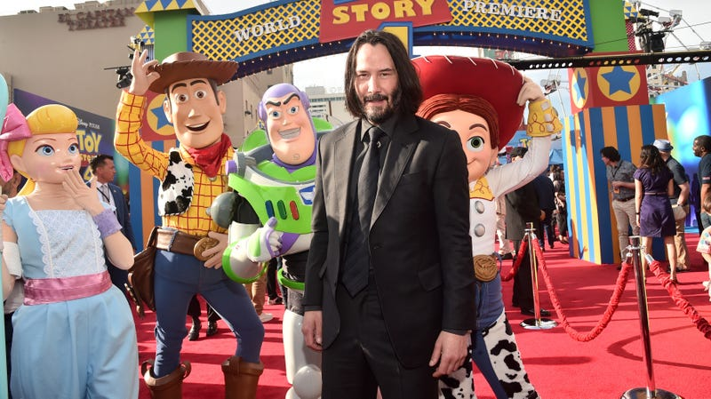 Here's Keanu Reeves as 9 different Disney princes for your Monday