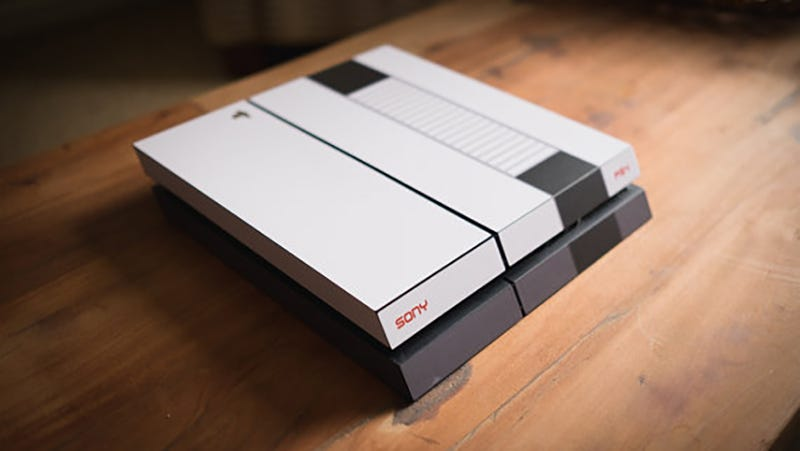 Illustration for article titled How To Make Your PS4 or Xbox One Look Like a Retro NES