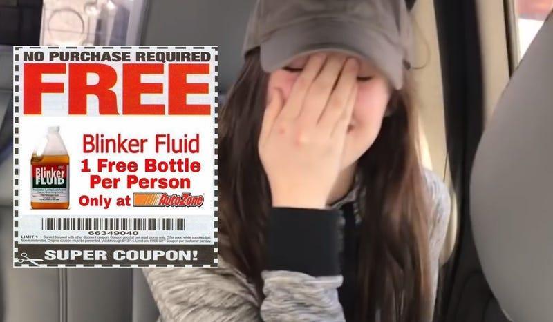Screenshot via Rohe; Blinker Fluid coupon via Imgur