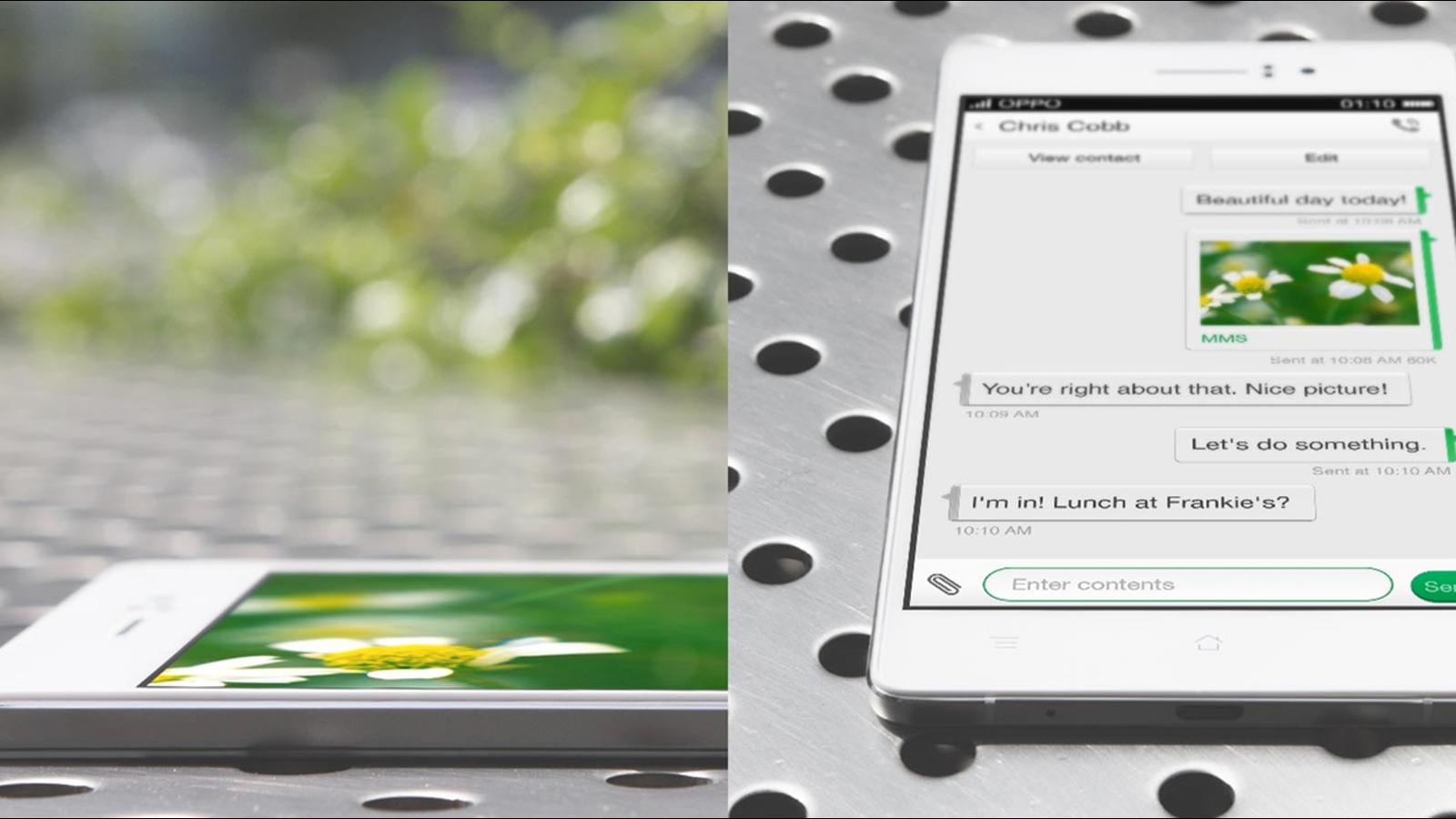 El Oppo R5 ya es el smartphone Android más fino del mundo: 4,8 mm