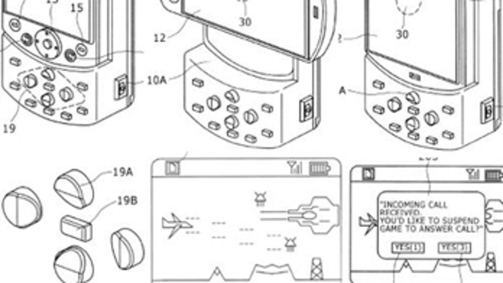Sony ericsson shows off its psp phone design malvernweather Choice Image