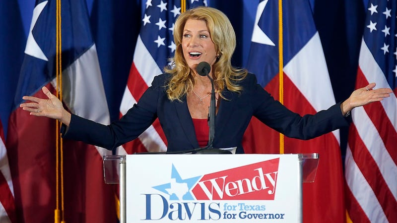 Illustration for article titled Male Journalist Seeks Proof Wendy Davis Really Had an Abortion