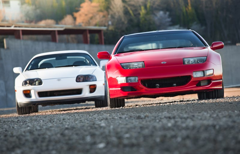 Illustration for article titled Your Ridiculously Awesome Toyota Supra And Nissan 300ZX Wallpapers Are Here