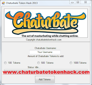 chaturbate token hack password