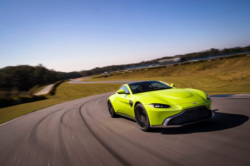 Illustration for article titled Tepid Take: The new Aston Martin Vantage isn't really all that pretty