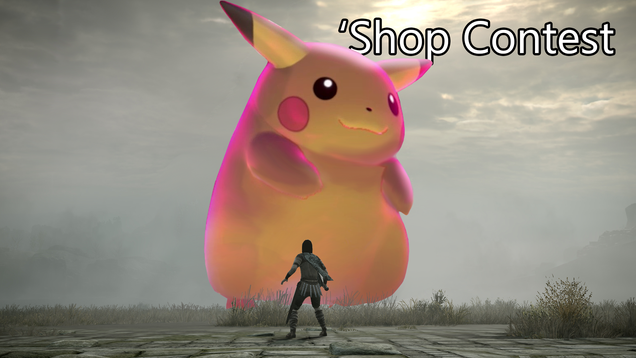Shop Contest: Big Pikachu
