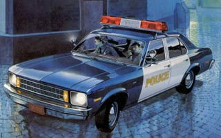 Illustration for article titled What's the least intimidating police cruiser ever?