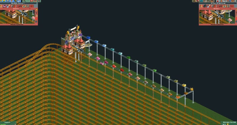 RollerCoaster Tycoon Ride From Hell Lasts 12 Years