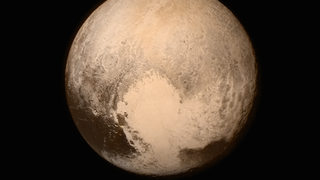 Illustration for article titled Hey, What's That on Pluto?