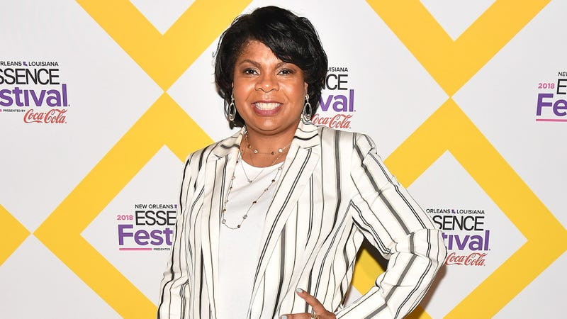 April Ryan attends the 2018 Essence Festival presented by Coca-Cola on July 7, 2018 in New Orleans, Louisiana.