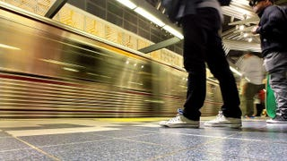 Universal City Metro Red Line station in Los AngelesLos Angeles Times screenshot