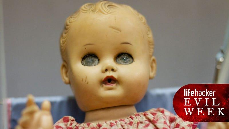 Haunted doll? Check. Image via Flickr
