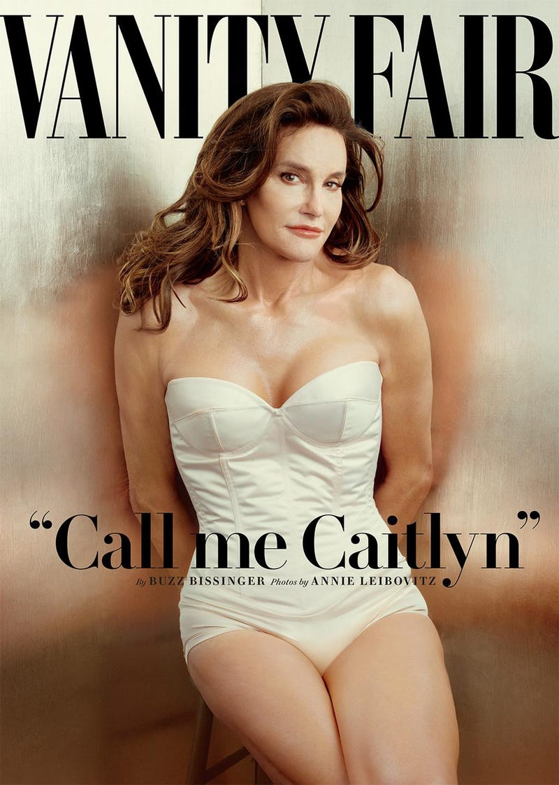 Illustration for article titled Caitlyn Jenner, Formerly Bruce, Debuts On The Cover of Vanity Fair