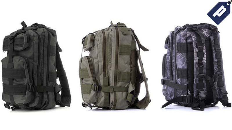 Illustration for article titled Pack With Military Efficiency With This Tactical Backpack For $26