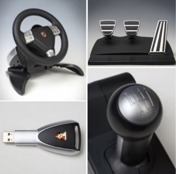 Illustration for article titled Porsche 911 Steering-Wheel Controller for PS3!