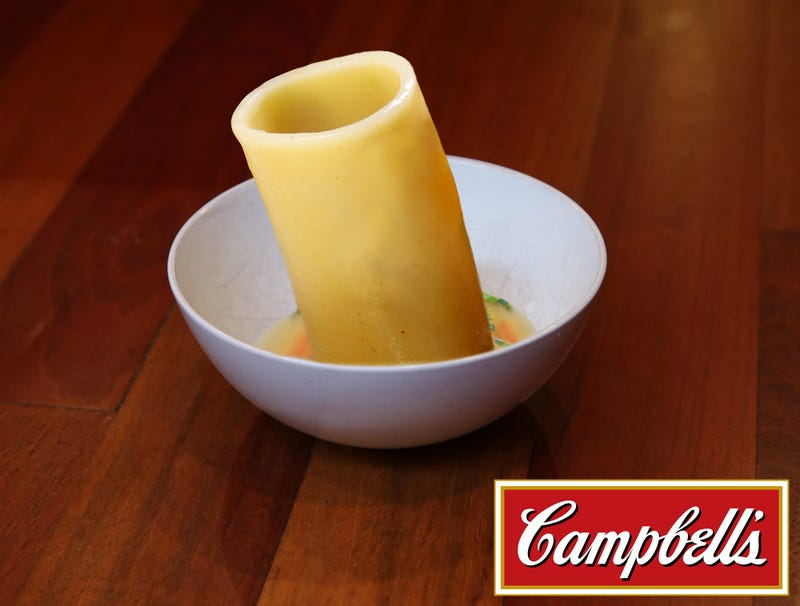 Illustration for article titled Campbell's Unveils One Big Can-Sized Noodle