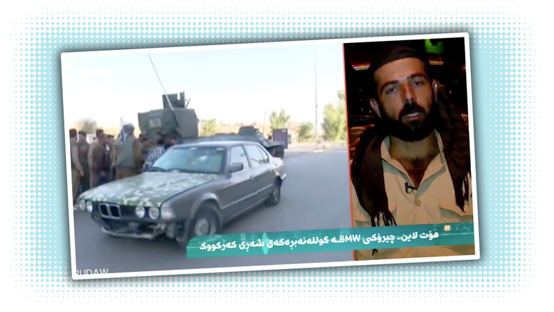 Illustration for article titled Kurdish Soldier Rescues 70 People From ISIS Attack In His Personal Bulletproof BMW