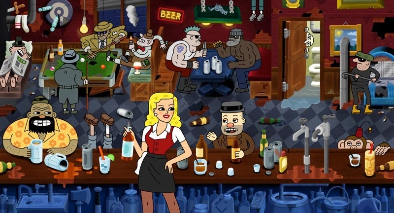 Illustration for article titled The Adventures of Drunky Is the R-Rated Animated Comedy We've Been Waiting For