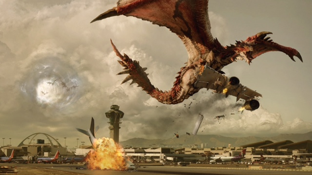 the team behind the resident evil movies is making a monster hunter film