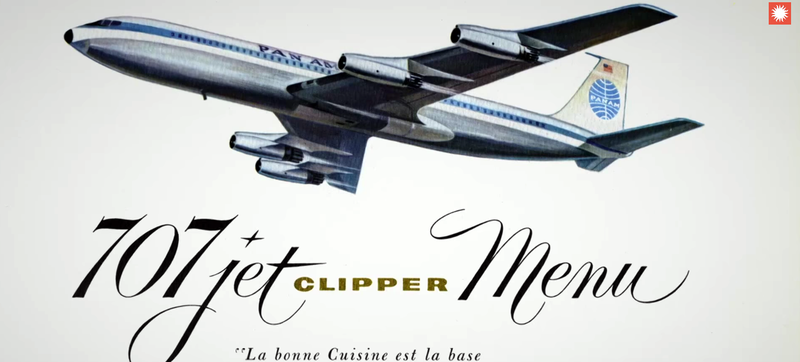 Illustration for article titled Any Plane Food You Had Is A Cold Hamburger Compared To Pan Am's Feast