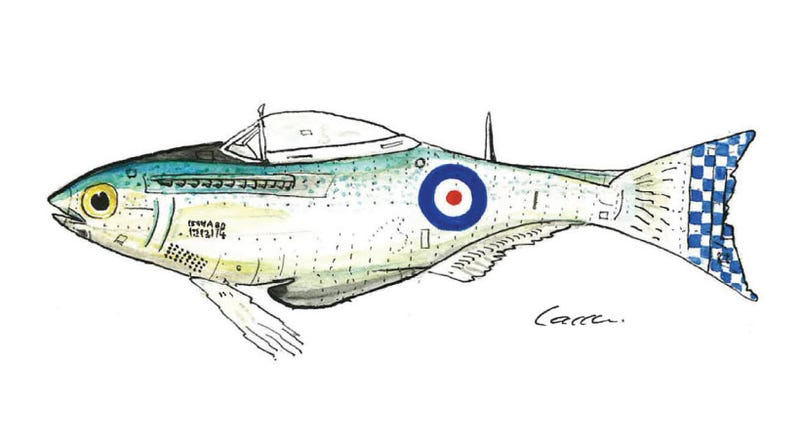 Illustration for article titled Famous Fish of WWII