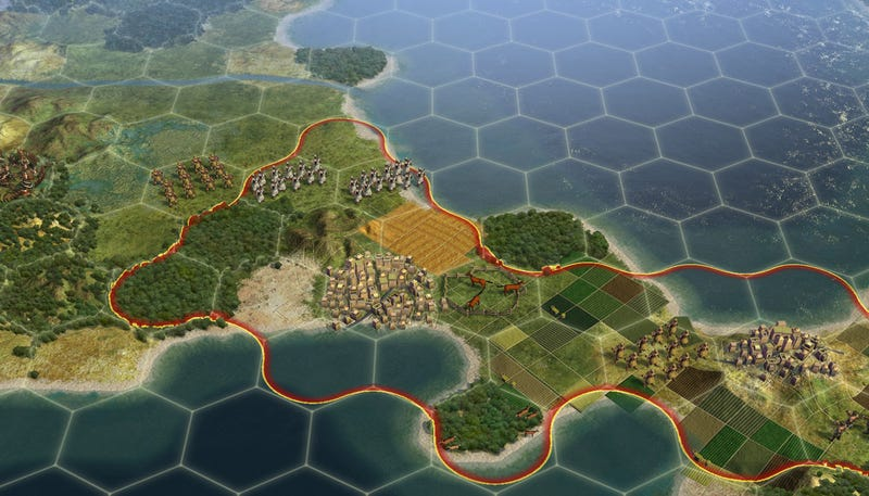 Illustration for article titled Civilization V Hexes PCs This Fall