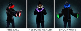 Illustration for article titled Light-up wizard hoodie transforms its wearer into a Technomancer