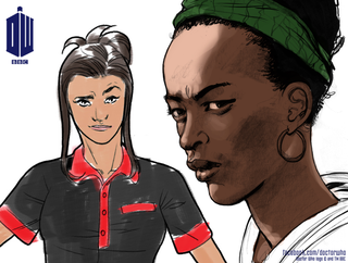 Illustration for article titled Doctor Who's Comic adventures to introduce Black and Hispanic companions