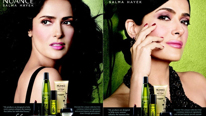 Illustration for article titled Salma Hayek Ups the Ante on Her Beauty Line