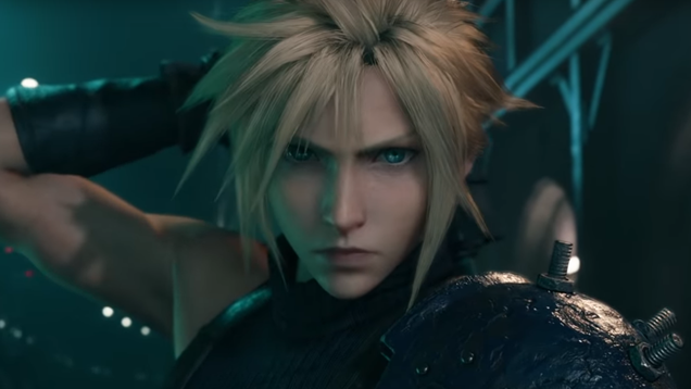 Take a look at the Final Fantasy VII remake's updated intro, big-headed versions of classic monsters