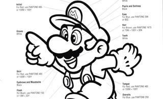 Illustration for article titled Nintendo's Official Rules On What Color Mario Must Be