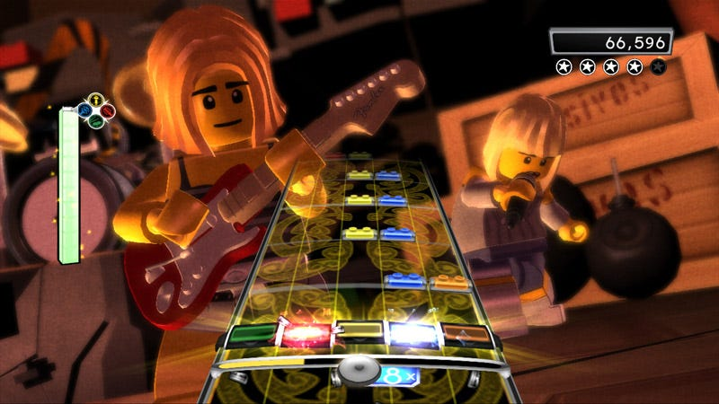 Illustration for article titled LEGO Rock Band Review: Redefining The Rock Block