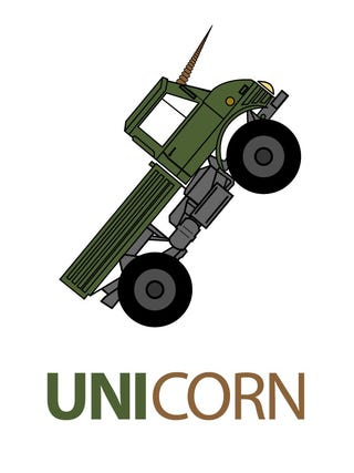 Illustration for article titled Unimog is my art test