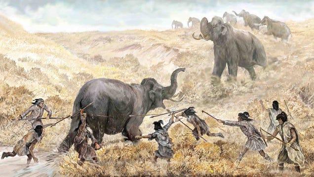 Humans Hunted Mastodon in Florida Nearly 15,000 Years Ago