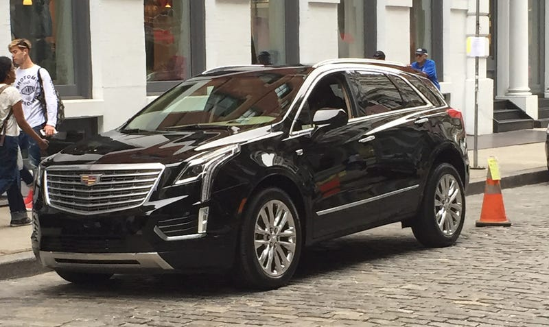 Illustration for article titled Here's The 2016 Cadillac XT5 Crossover Running Around Manhattan