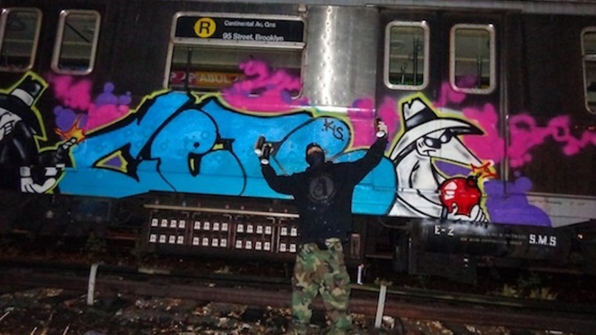 A Rare Look at the Graffiti-Covered History of NYC\'s Subway