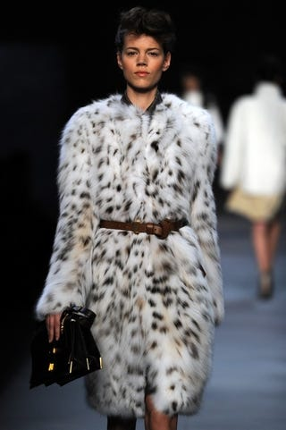 Illustration for article titled Channel Your Inner Cruella At Fendi