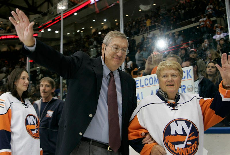 Illustration for article titled Former Islanders Coach Al Arbour Dies At 82