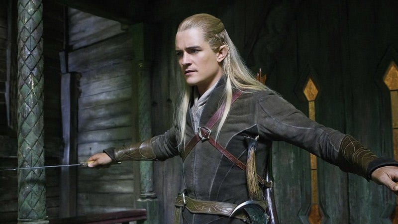 Legolas in The Hobbit: The Desolation Of Smaug