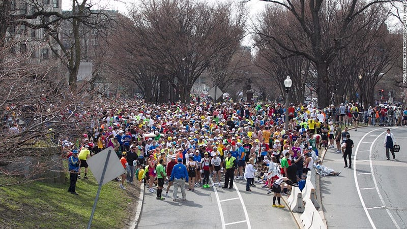 """Illustration for article titled How A Clever Algorithm Can Help Us """"Complete"""" The 2013 Boston Marathon"""