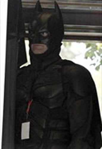 Illustration for article titled Dark Knight Rises more set photos
