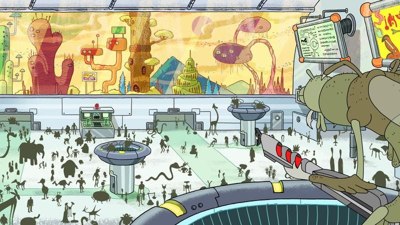 """Illustration for article titled Rick And Morty: """"Pilot"""""""
