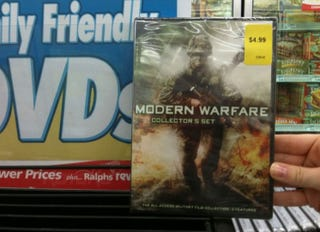 Illustration for article titled Modern Warfare Is Already A Movie (And It's Cheap!)
