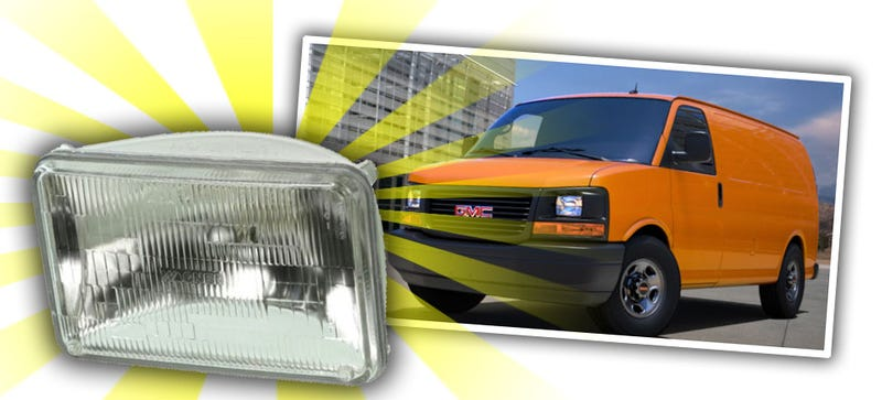 Illustration for article titled Is This The Last Vehicle You Can Get With Old Sealed-Beam Headlights?