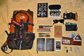Illustration for article titled What's in your bag right now?